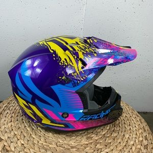 Fly Racing Kinetic XS Motocross Pink Purple Helmet
